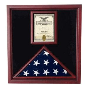 Flag and Document Case – Vertical 8 1/2 x 11 Document  Flag and Document Case This beautiful Cherry Flag and Document Case will hold a 3′ x 5′ flag in the flag case and a 8 1/2″ x 11″ documentRead More