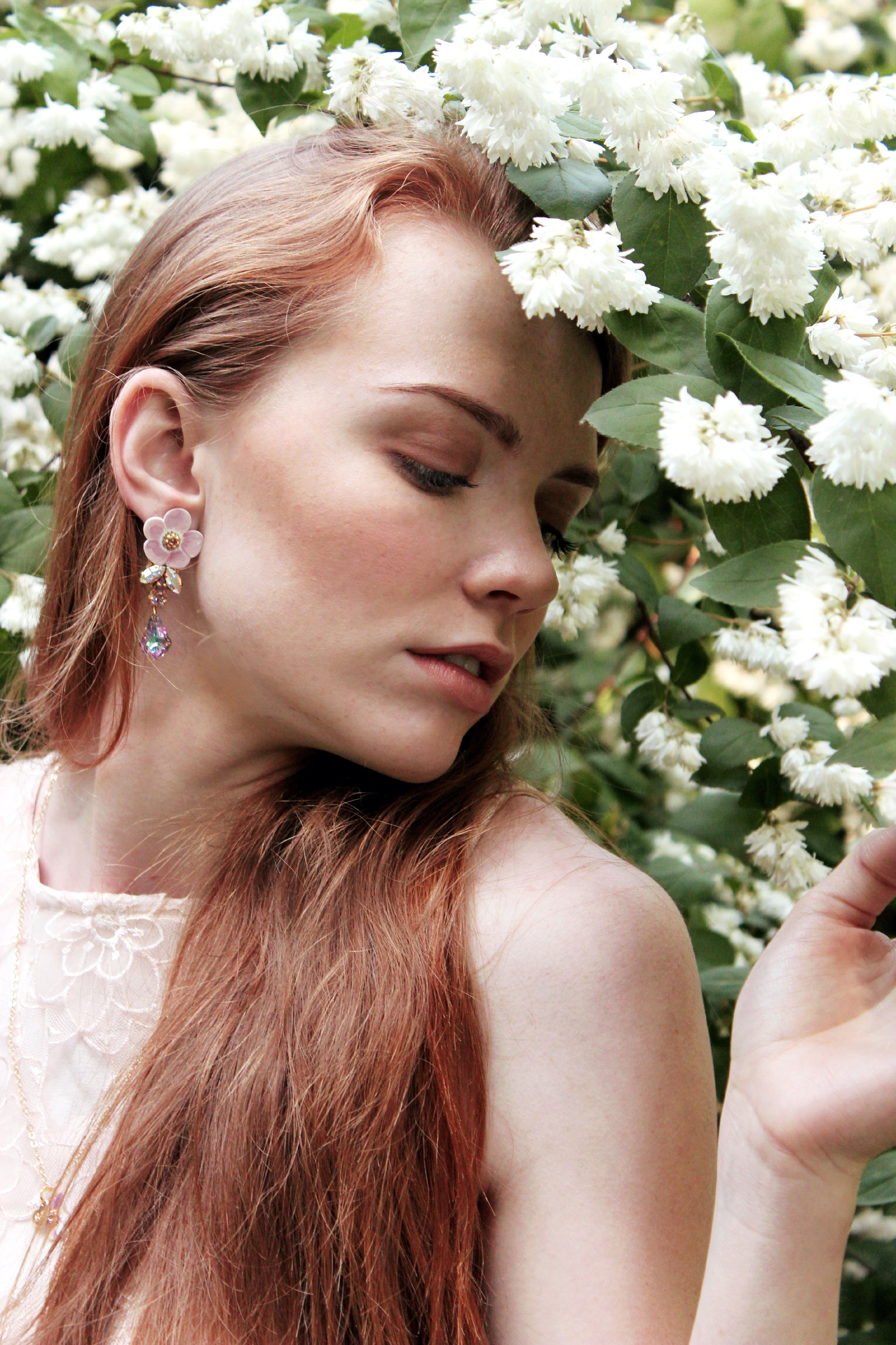 Secret Garden girl - Romantic Shoot ADV #LULIartbijoux #jewelry ...