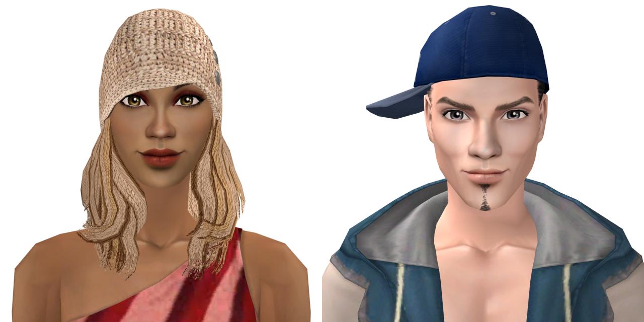 Mona Lott and Bing Bling | TS2 - CAS - Sims | Pinterest