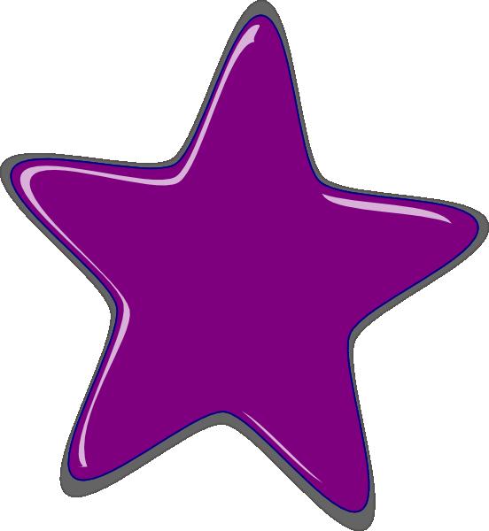 Stars purple. Star clip art pink
