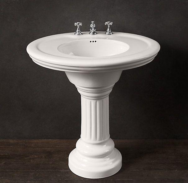 Vintage Pedestal Sink Omg I Found Ones That Look Like