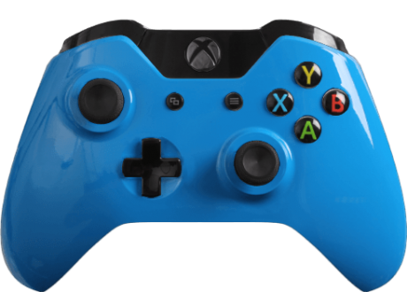 Sweet New Xbox One Controller Glossy Blue Cover Pokemon Xbox Xbox 1
