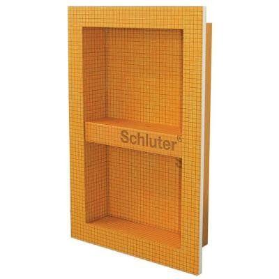 Schluter Kerdi Board Sn Prefabricated Shower Niche 12x20 Shower Niche Tile Ready Shower Niche Shower Wall