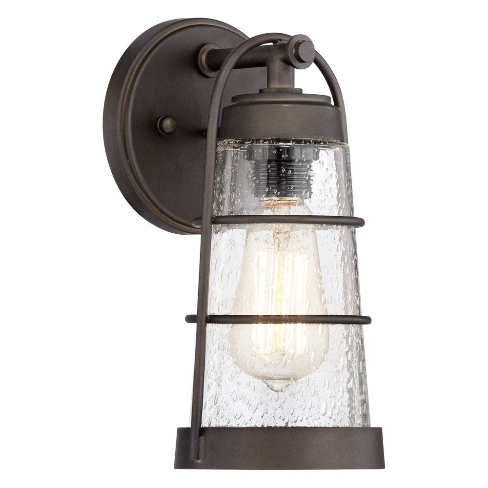 Franklin Iron Works Rustic Farmhouse Outdoor Wall Light