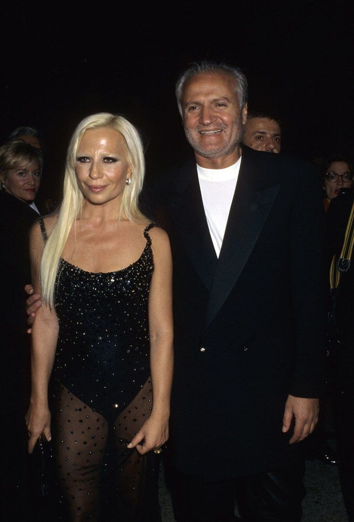Resultado de imagen para donatella versace 1995 met gala