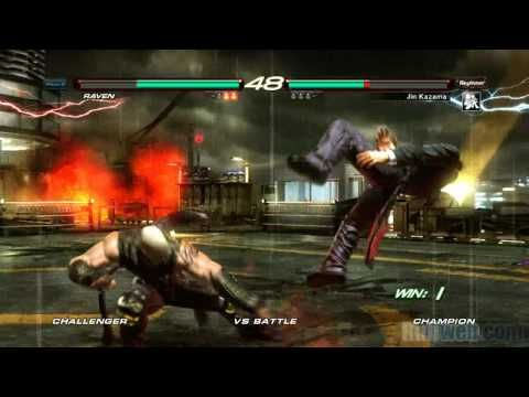 Tekken 6 Raven Vs Jin Ps3 Gameplay True Hd Quality Youtube