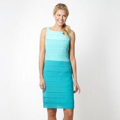 Debut Aqua graduating tiered shift dress- at Debenhams Mobile