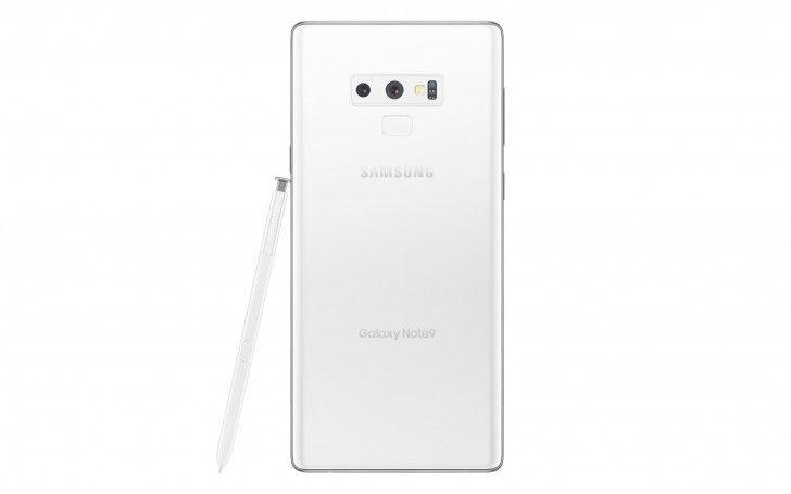 White Samsung Galaxy Note9 Leaks Samsung Galaxy Galaxy Samsung