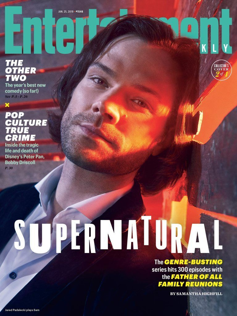 Jared Padelecki on EW Cover : Supernatural stars take you behind the scenes in exclusive EW portrai