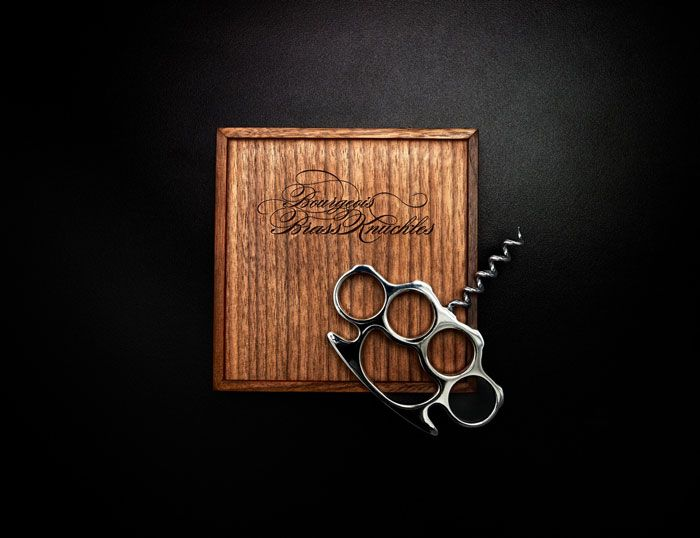 Bourgeois Brass Knuckles Corkscrew by Chromoly