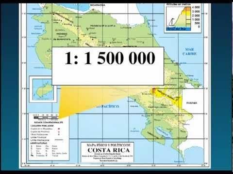 Elementos Del Mapa Cartografía Mapas Geografía