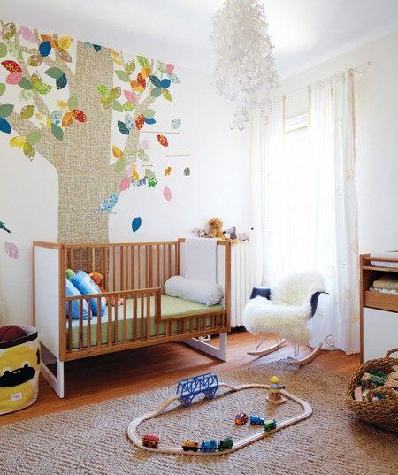 Nature-Inspired Toddler's Bedroom  photo Pier Kristiansen   design Emma Reddington