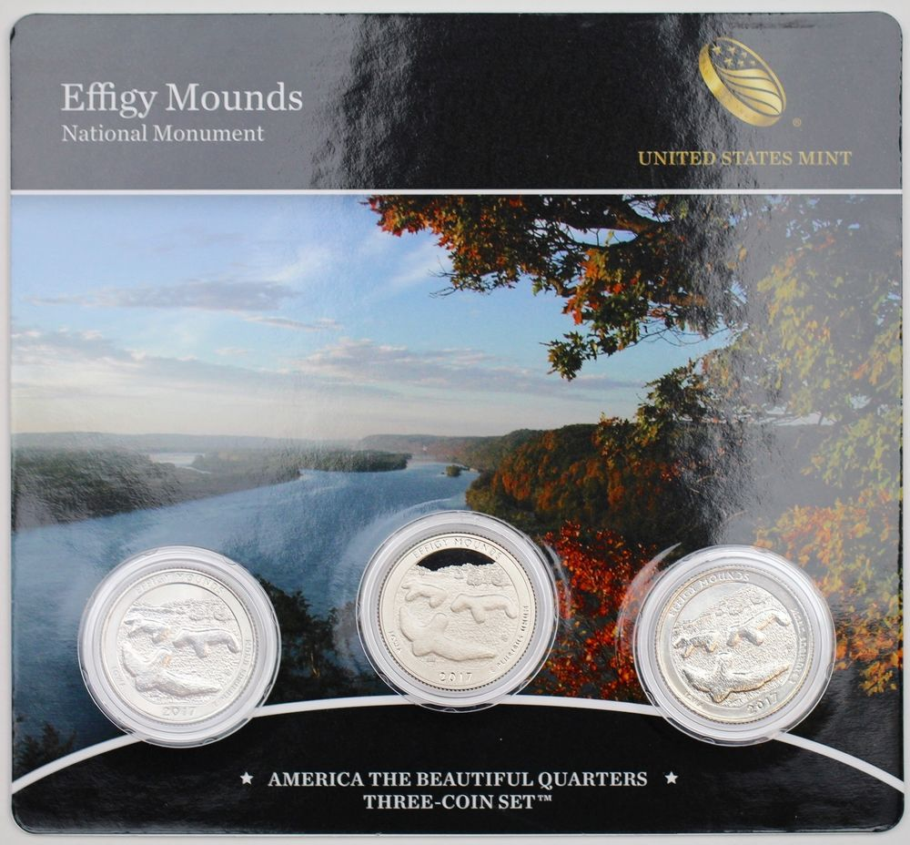 2016 S America the Beautiful National Park Quarter Proof Set with Box and CoA