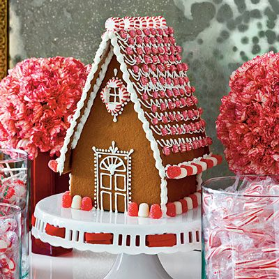 Make It Merry & Bright | White gingerbread house, House trim and ...