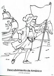 Recursos Para Educacion Infantil Dibujos Del Descubrimiento De America Cristobal Colon Para Ninos Carabelas De Cristobal Colon Cristobal Colon