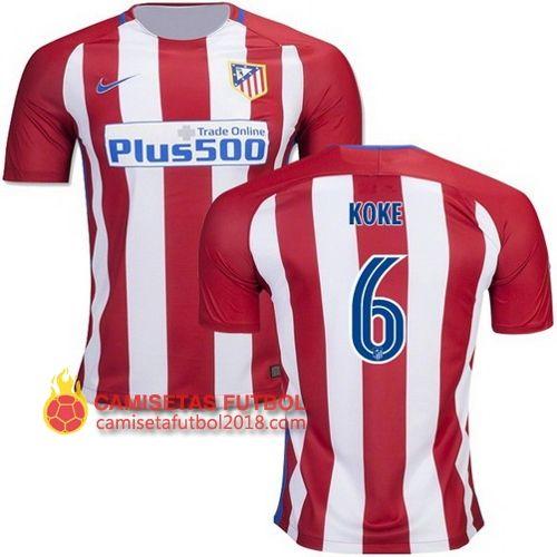 d27edb0497b ... 7 Antoine Griezmann France Home Soccer Jersey Euro 2016 Cup + get Mr.  Sport Primera camiseta KOKE del Atletico Madrid 2016 2017 ...