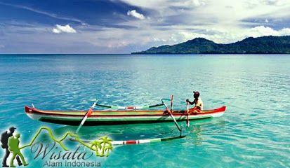 Objek Wisata Pantai Natsepa Ambon Maluku Pantai Pedesaan Kota