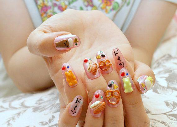 Nail nail art kawaii polymer clay food miniature food by aya1gou nail nail art kawaii polymer clay food miniature food by aya1gou prinsesfo Image collections