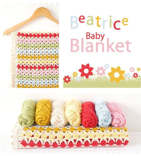Crochet Pattern, Blanket Pattern, Crochet Blanket, Crochet Baby ...