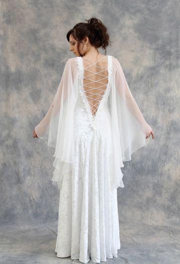White Medieval Wedding Dresses | Weddings | Pinterest | Medieval ...
