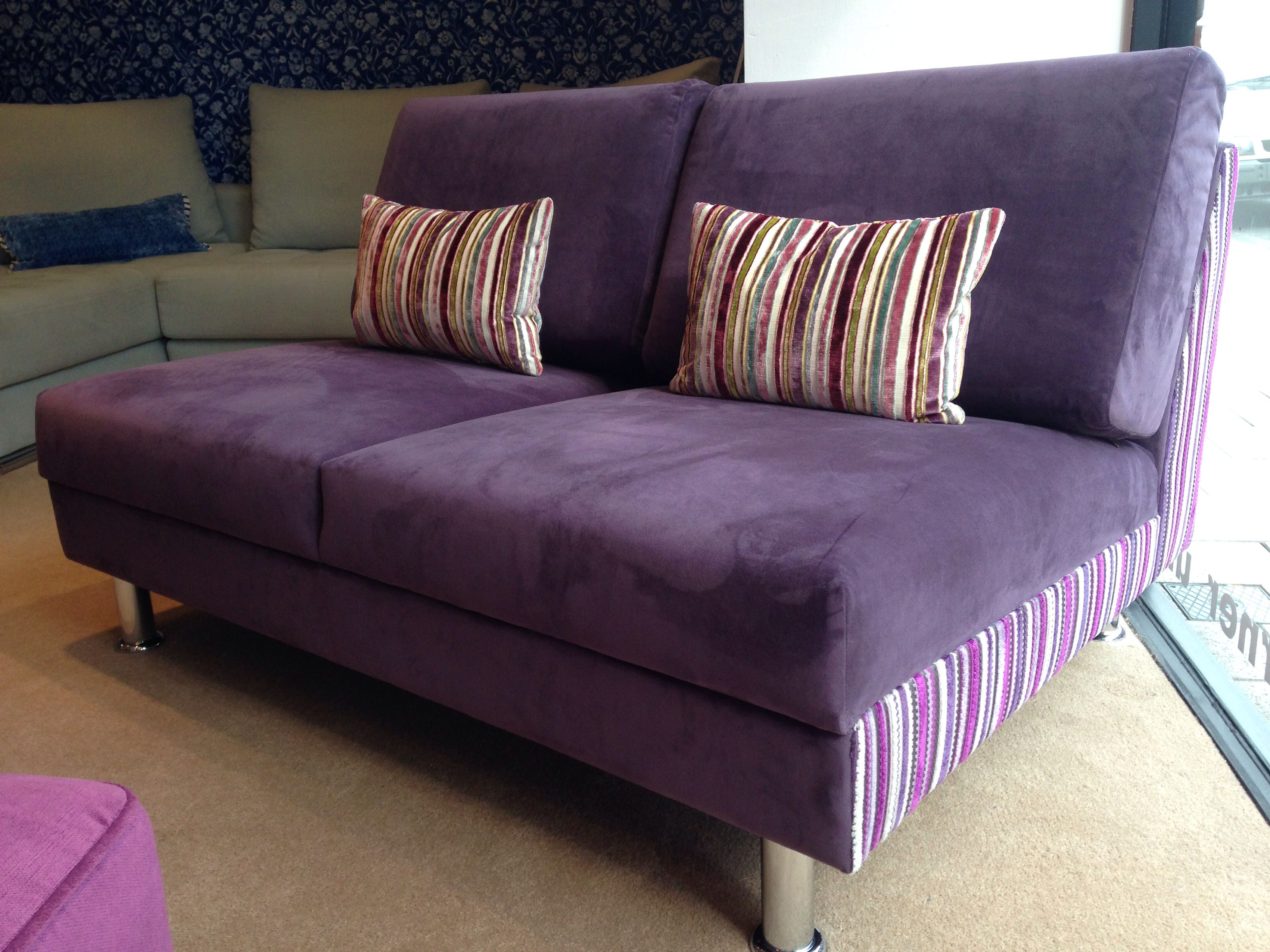 Contemporary armless sofa Corylus 140 cm wide in