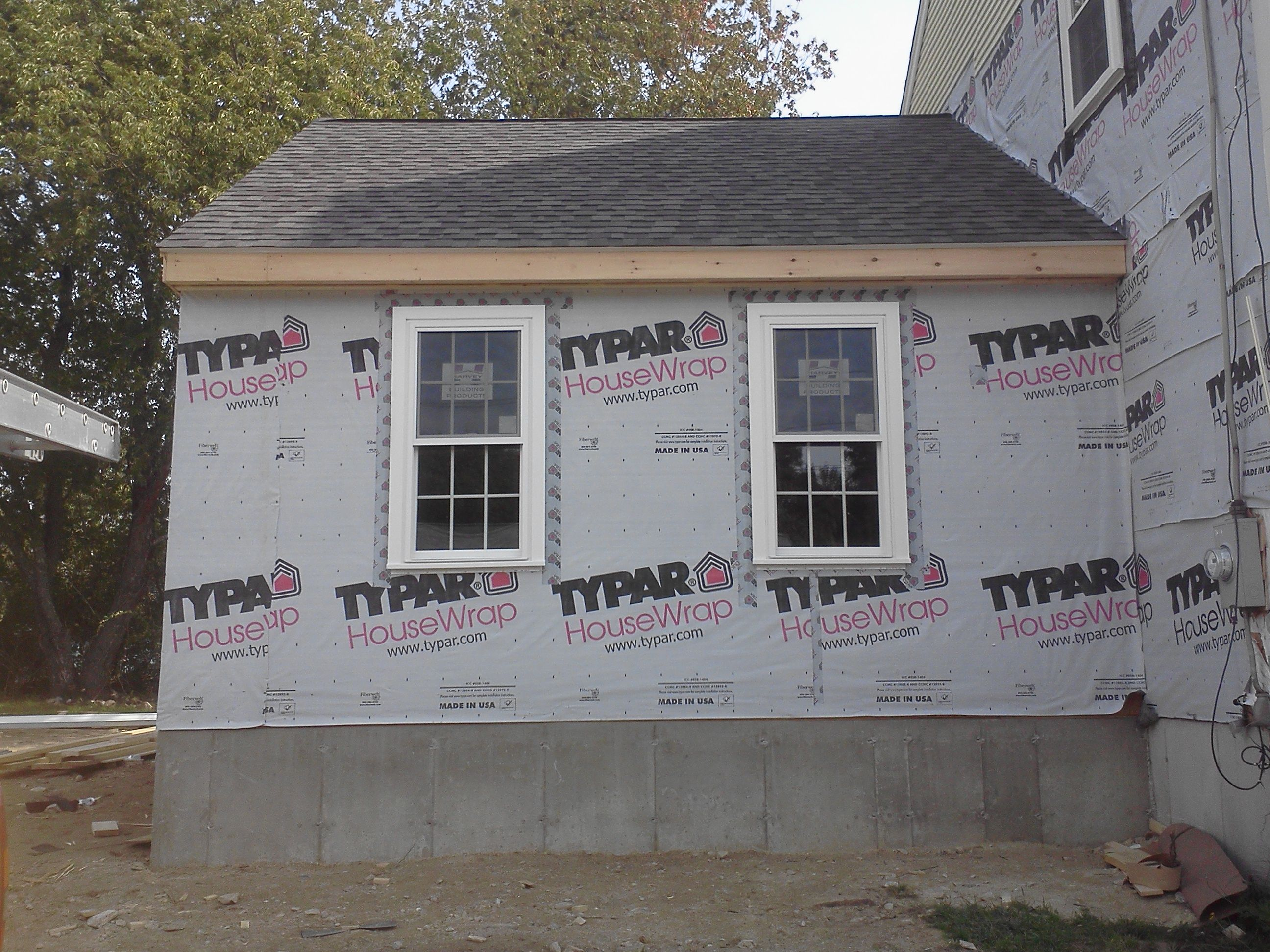 Small family room addition in Fairhaven, MA in 2019