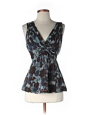 Tiny Flaw Size Sm BCBGMAXAZRIA Sleeveless Silk Top for Women