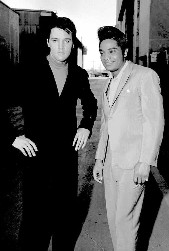 Elvis with friend Jackie Wilson. July 11 1966 (With images ...