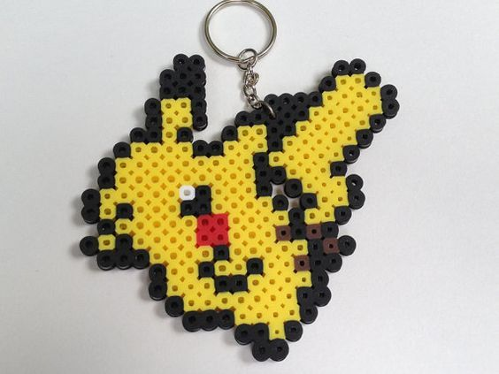 Epingle Sur Hama Pikachu Perler Beads