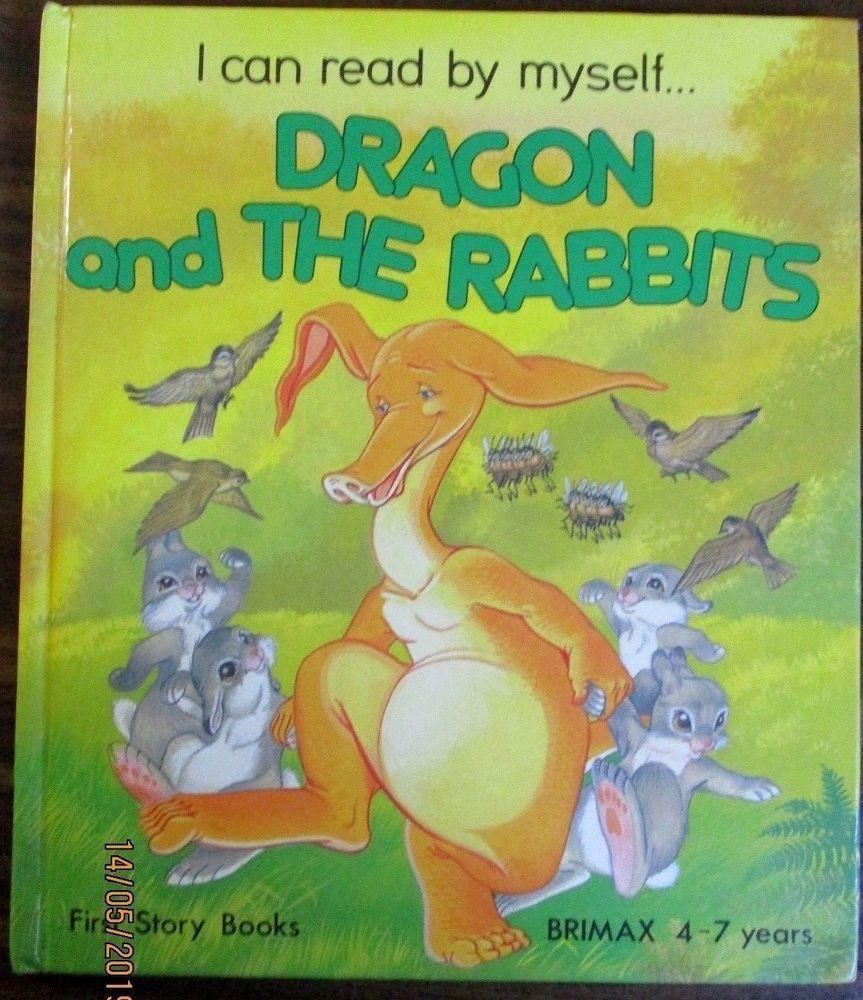 Dragon and the Rabbits, Kincaid, Lucy,hardback book 1985   Rabbit