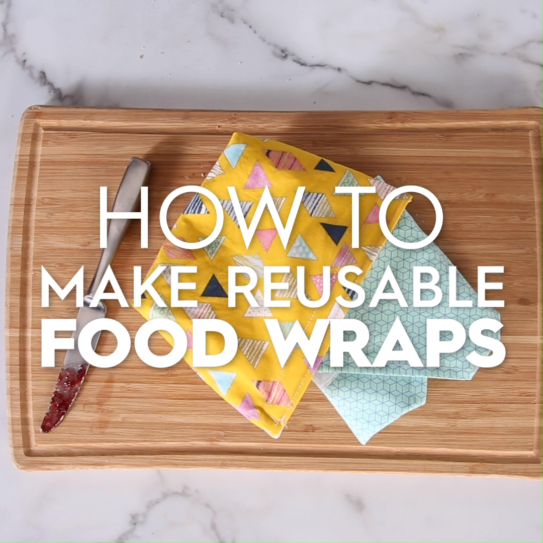 How to Make Reusable Snack Bags and Sandwich Wraps