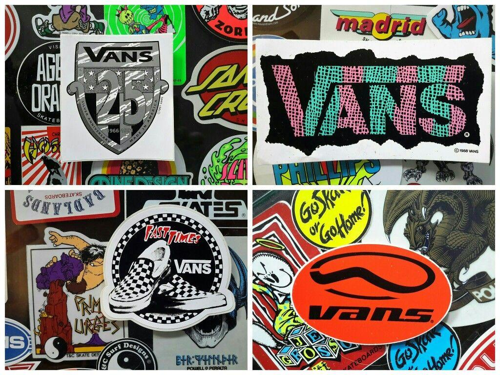 stickers vans bmx