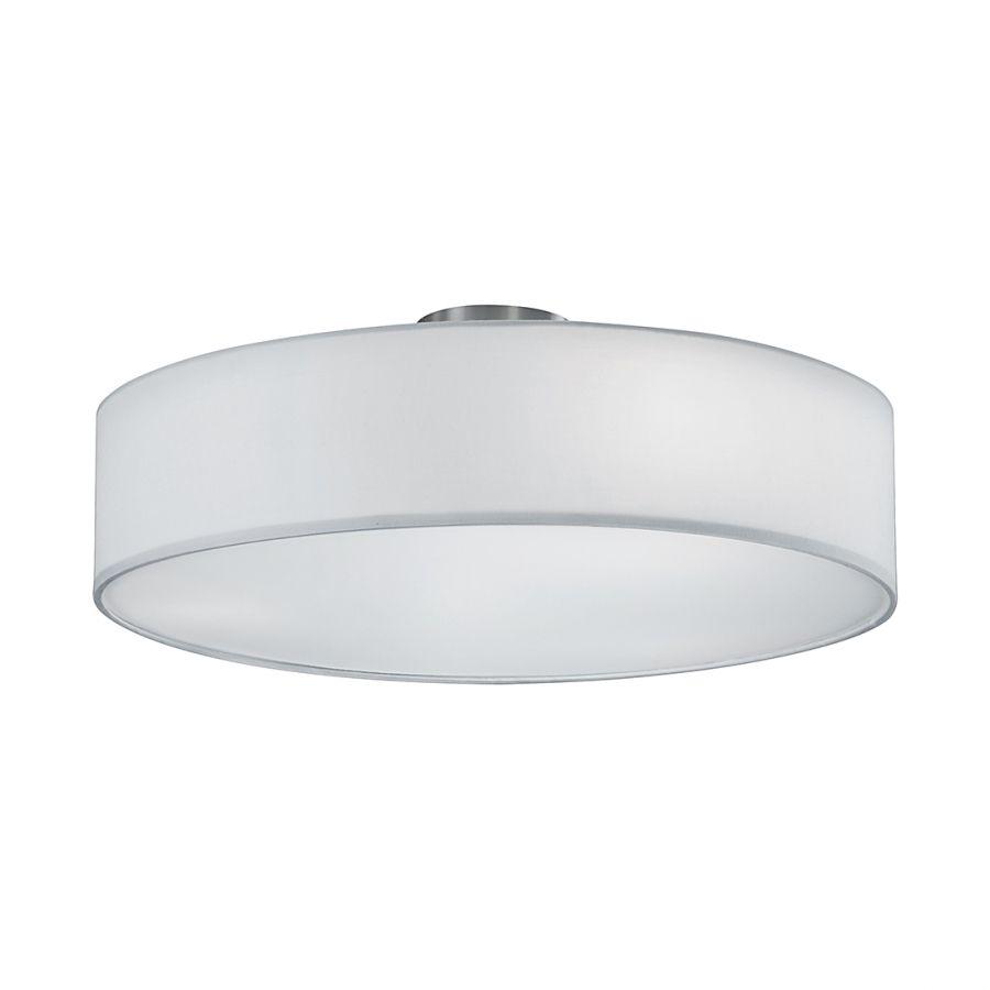 Wunderschön Deckenlampe 3 Flammig Ideen Von Deckenleuchte - Nickel - - Weiß