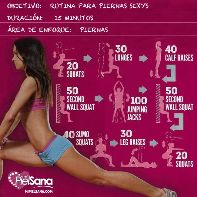 ejercicios para aumentar resistencia en piernas