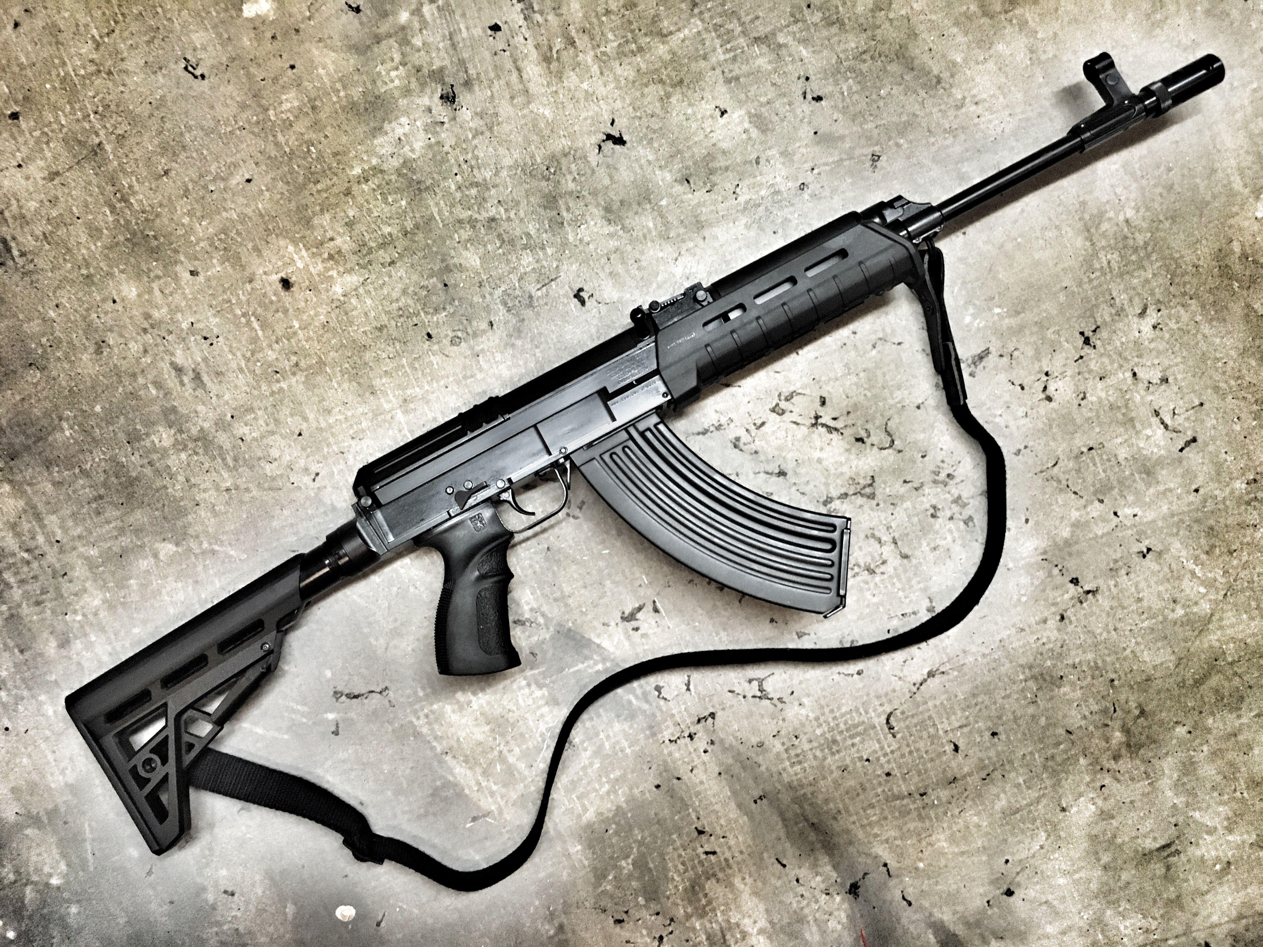 CZECHPOINT/Czech Small Arms- vz  58 Tactical 762-M | ComBloc