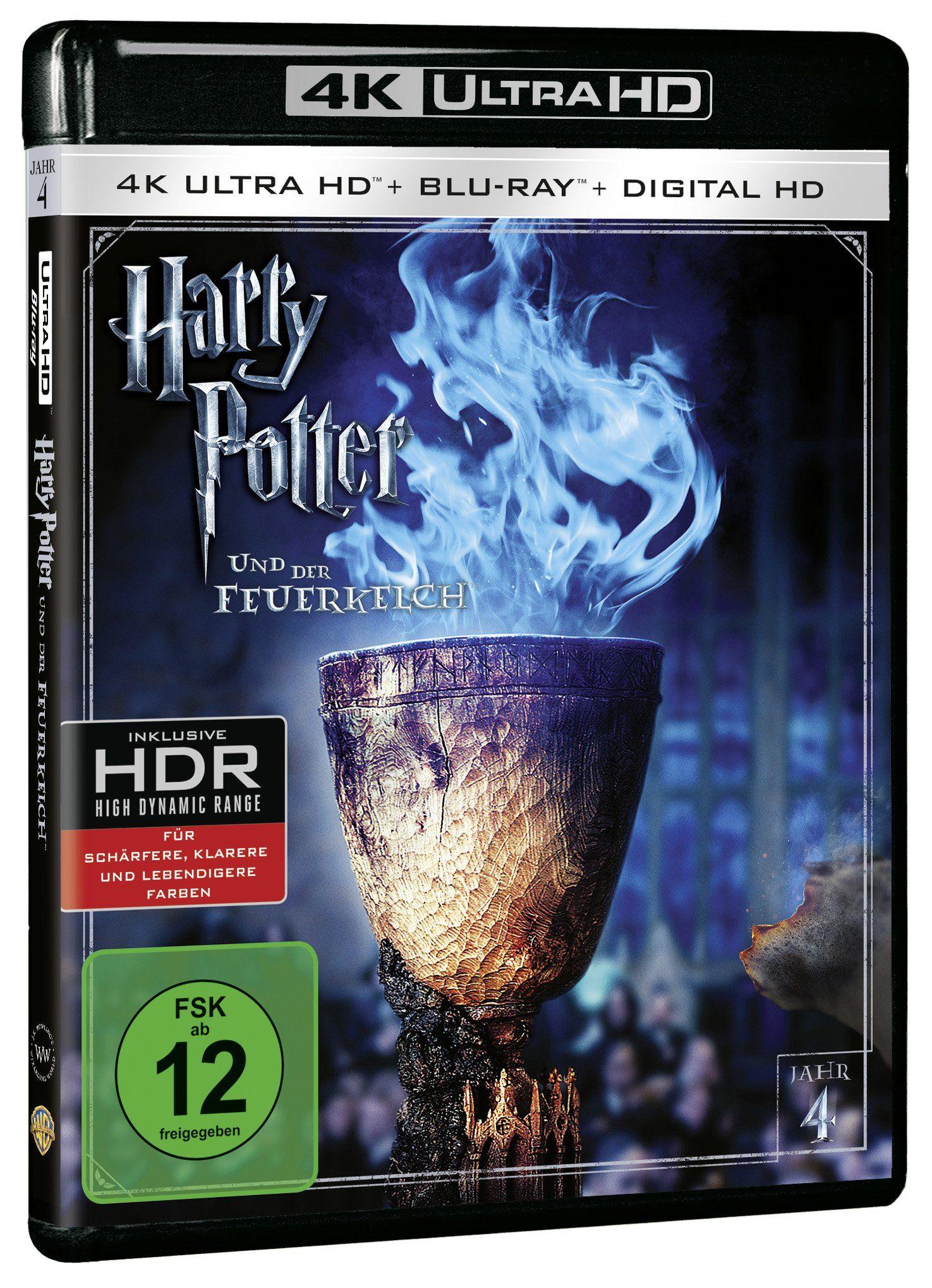 Harry Potter Und Der Feuerkelch 4k Ultra Hd Blu Ray Alemania Blu Ray Der Feuerkelch Und Harry Caliz De Fuego Harry Potter Tutorial Maquillaje Ojos