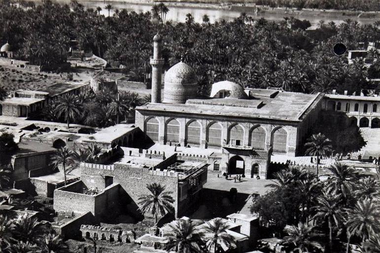 مسجد ابي حنيفة النعمان الاعظمية بغداد 1919