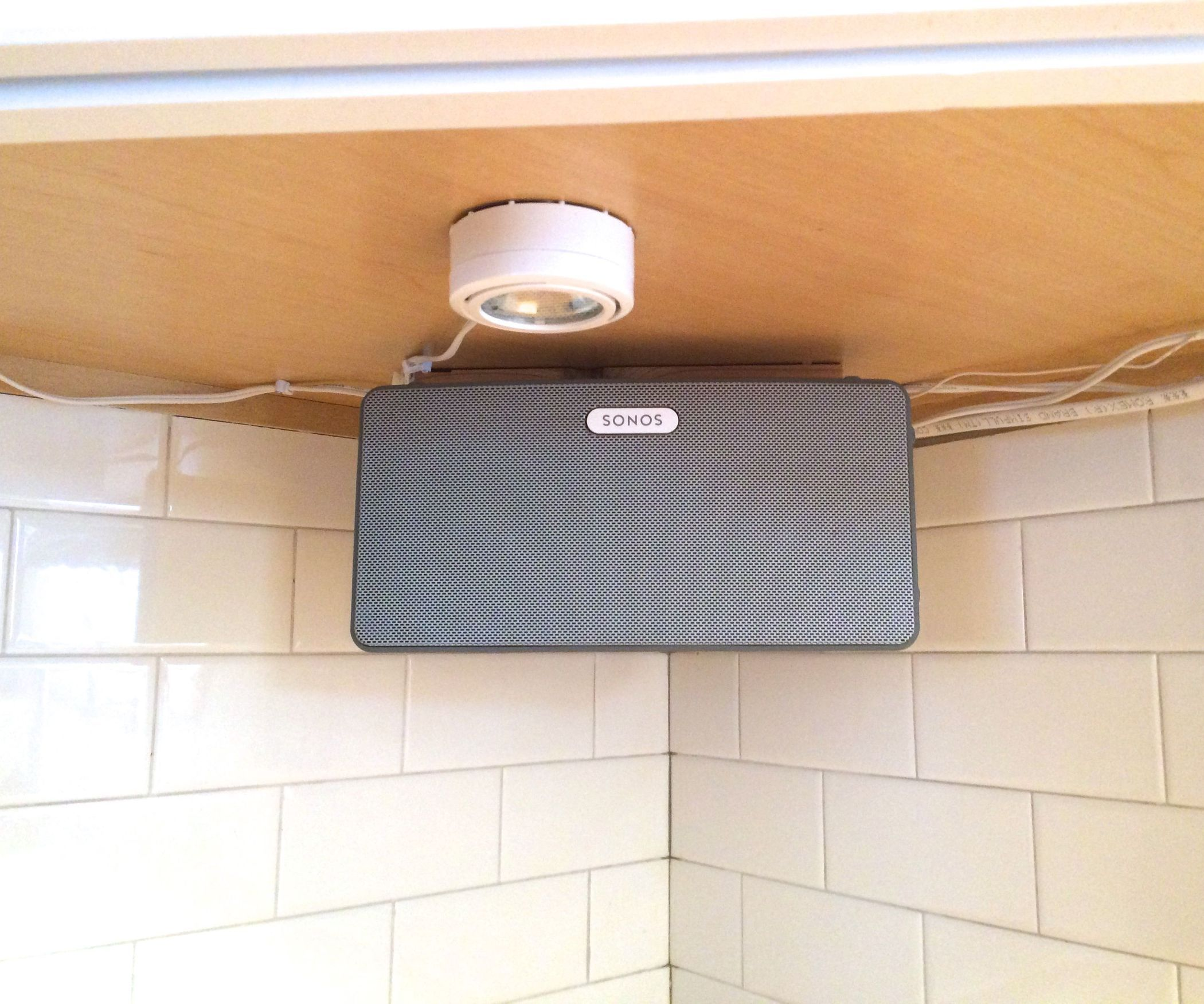 Mount A Speaker Under Cabinet