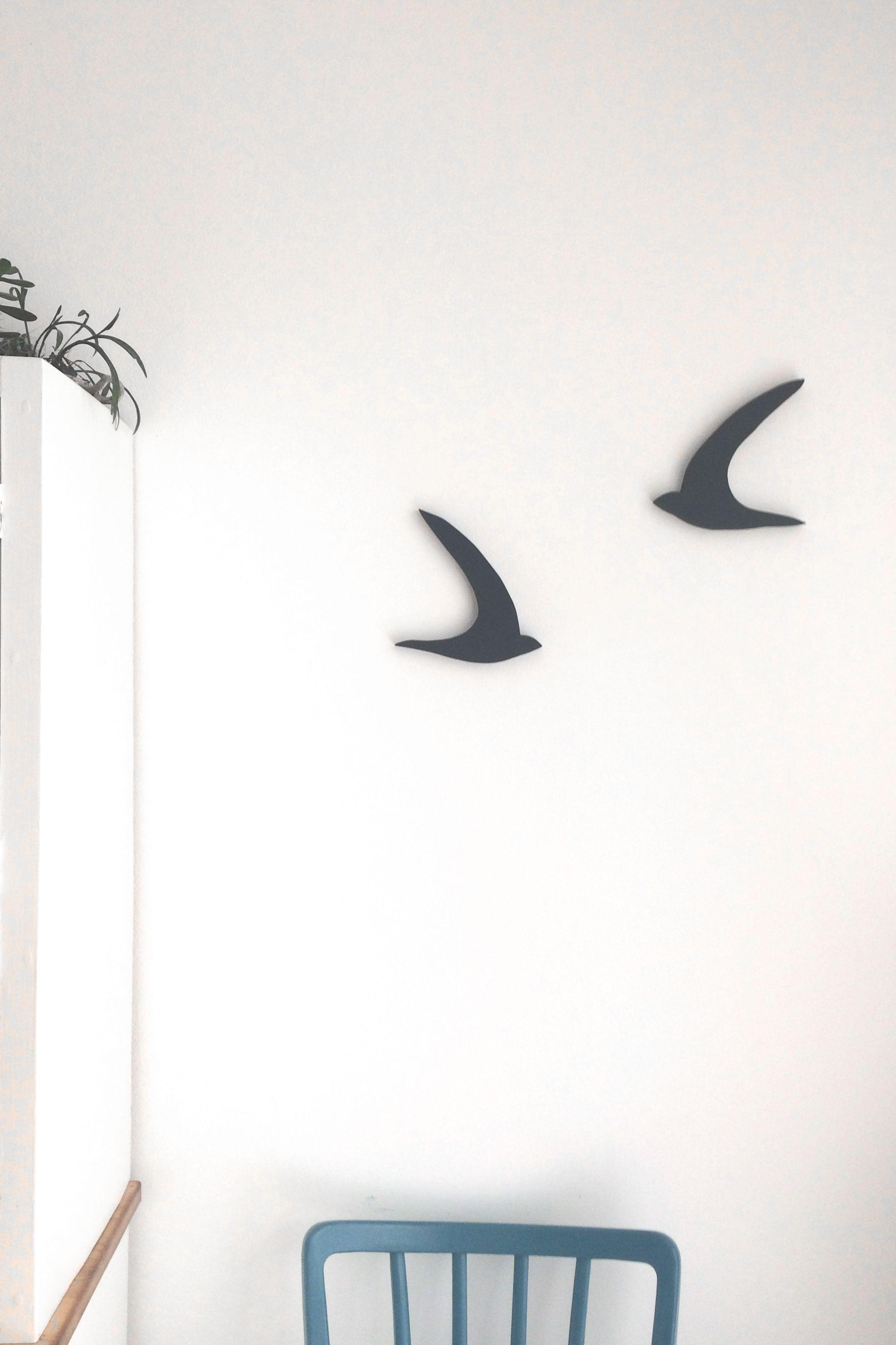 Flying Bird Wall Decor Made Of Wood Flying Birds Wall Decor Dyi Wall Art Bird Wall Decor