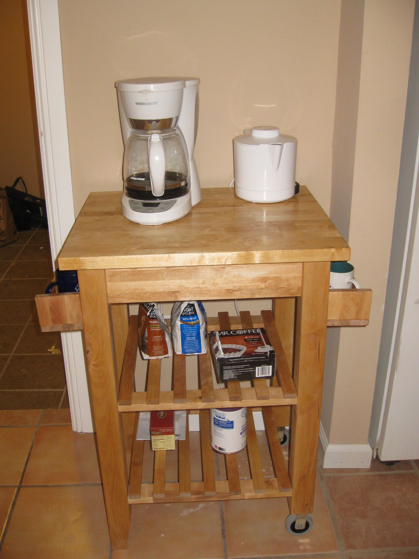 Coffee Cart – IKEA hack   Pinterest   Ikea wohnideen, Servierwagen ...