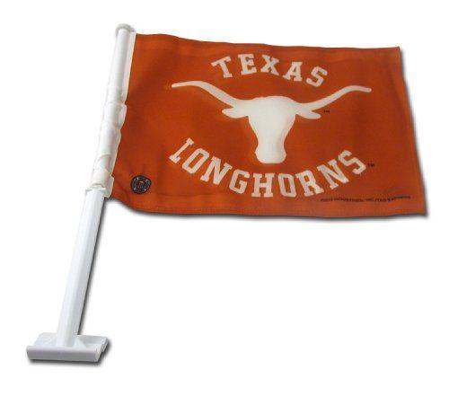 NCAA Texas Longhorns Car Flag