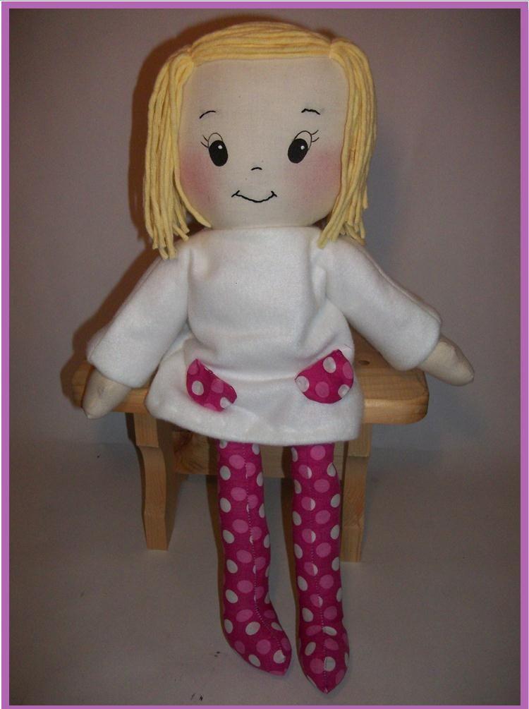 Free Simple Doll Patterns Sew Cute Patterns Rag Doll
