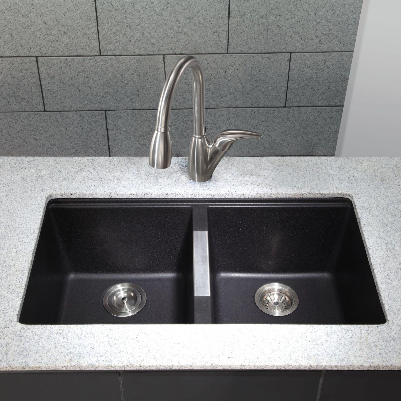 Black Undermount Kitchen Sink Kitchen Trash Can Ideas Check More