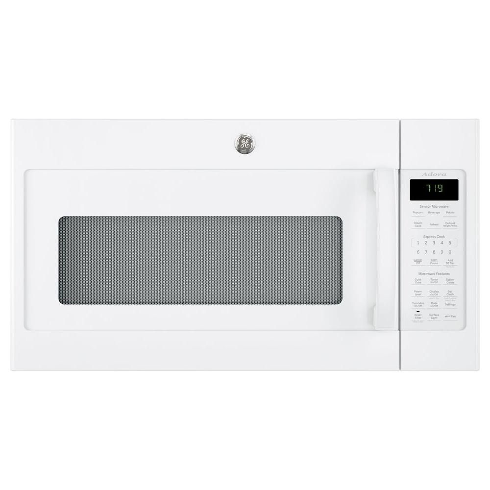 Ge Adora 1 9 Cu Ft Over The Range Microwave In Black Stainless Steel With Sensor Cooking Fingerprint Resistant Dvm7195blts Range Microwave Microwave Oven Over The Range Microwaves