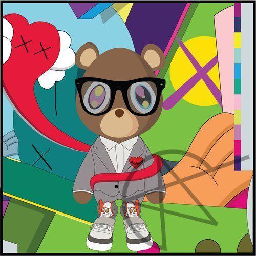 Kanye West Kanye West Bear Bear Art Bear Wallpaper