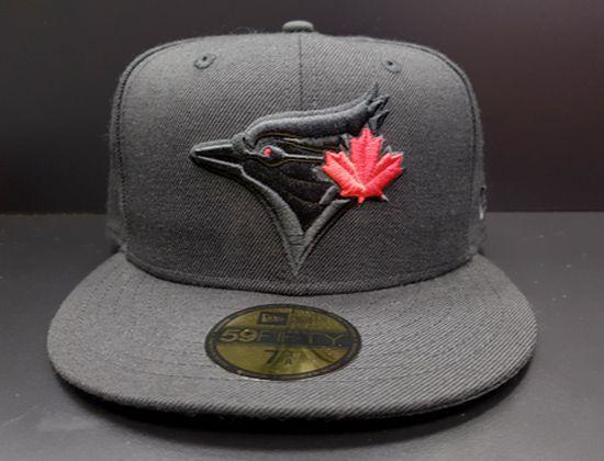 New Era 9FIFTY Toronto Blue Jays Snapback Hat Cap Black//Grey