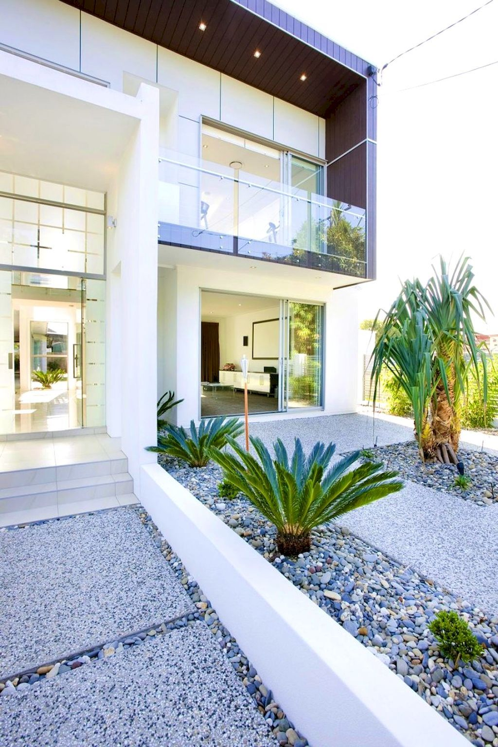simple modern front yard landscaping
