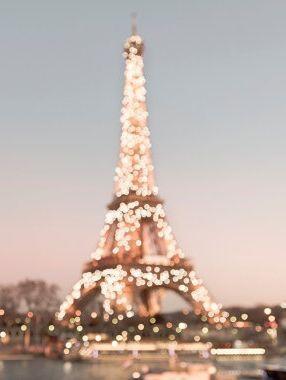 Paris Photography - Sparkling Eiffel Tower with Twinkle Lights, Paris Fine Art Photograph, Home Decor, Large Wall Art #eiffeltower