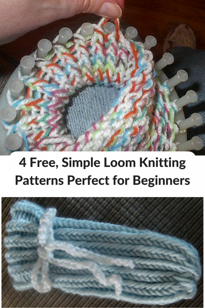 4 Free Simple Loom Knitting Patterns Perfect For Beginners Loom