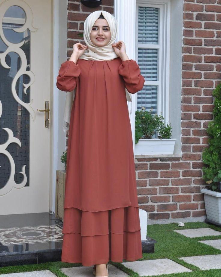 Yeniden Sifon Katkat Elbise Sizlerle 159 Kargo Dahil Kat Kat Sifon Elbise Dahil Elbise Kargo Kat Katkat Sifo Sifon Elbise Islami Giyim Elbise